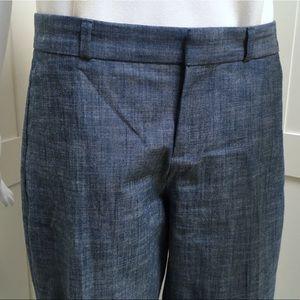 Banana Republic Linen Blue Pant Blake Fit